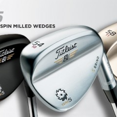 Titleist Spin Milled 5 Wedges March 15th