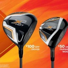Callaway X2HOT: KINGS OF DISTANCE  Available from May 15 -through July 7