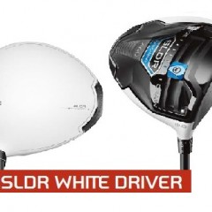 Taylormade SLDR.   The #1 Driver on TOUR, now in White.
