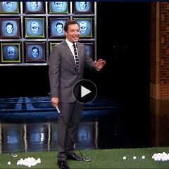 Facebreakers: Rory McIlroy and Tiger Woods on the Tonight Show with Jimmy Fallon