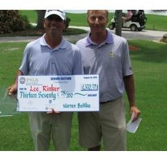 Lee Rinker the South Florida PGA Golf Champion 2014