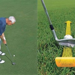 CHIP LIKE YOU PUTT: A Straight-Back Path Promotes a Solid Hit