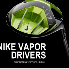 TOP GOLF PROFESSIONALS LIKE MCILROY AND WOODS USE THE NEWEST NIKE VAPOR