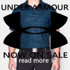 Under Armour NOW ON SALE: Shop Men's Favorite Golf Brand