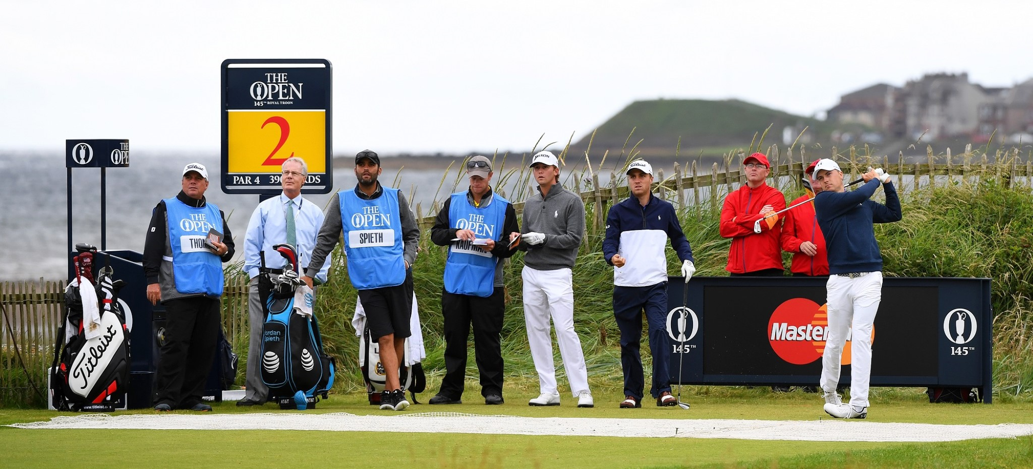 the players of the open
