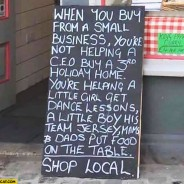 Why You Need to Support Small, Local Businesses