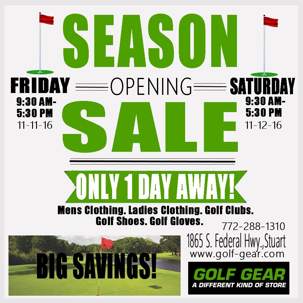 season opening sale2016